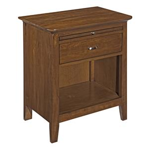 Kincaid Furniture Cherry Park Open Nightstand