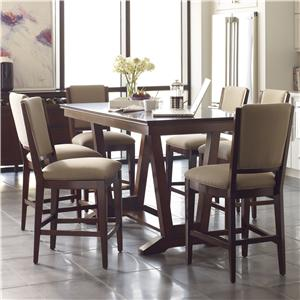 Kincaid Furniture Elise 7 Pc Counter Height Dining Set