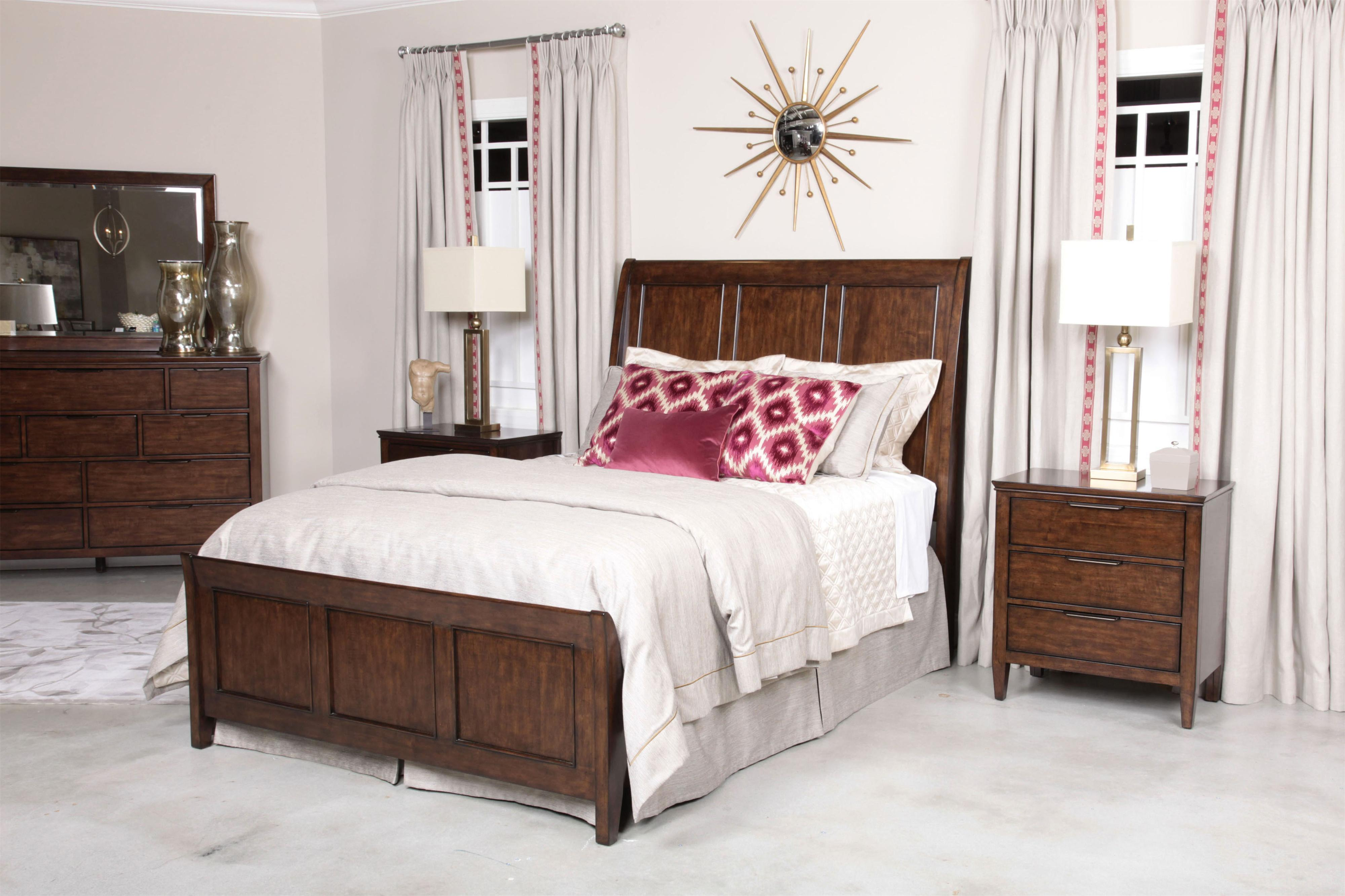 Kincaid Bedroom Furniture Caris Queen Sleigh Bed By Kincaid Furniture Wolf And Gardiner