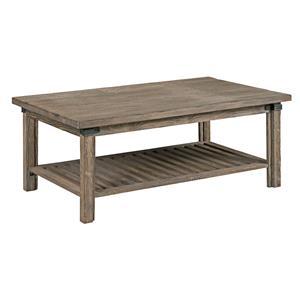 Kincaid Furniture Foundry Rectangular Cocktail Table
