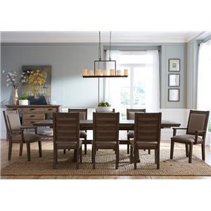 Kincaid Furniture Foundry 9 Pc Dining Set
