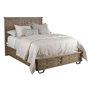 Kincaid Furniture Foundry Queen Panel Bed