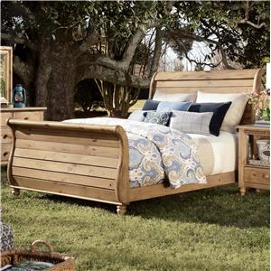 Kincaid Furniture Homecoming Queen Sleigh Bed