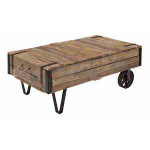 Kincaid Furniture Homecoming Industrial Cart Cocktail Table