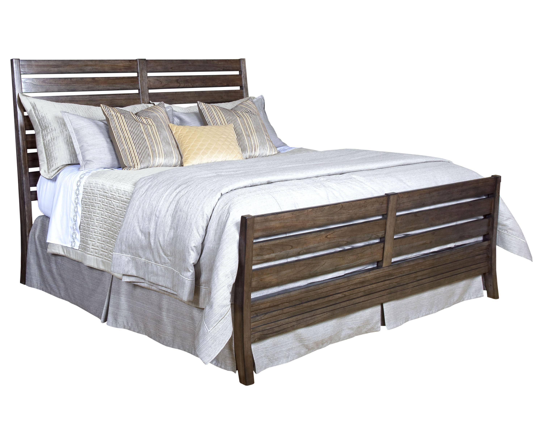 California king rake slat sleigh bed by kincaid furniture wolf and gardiner wolf furniture