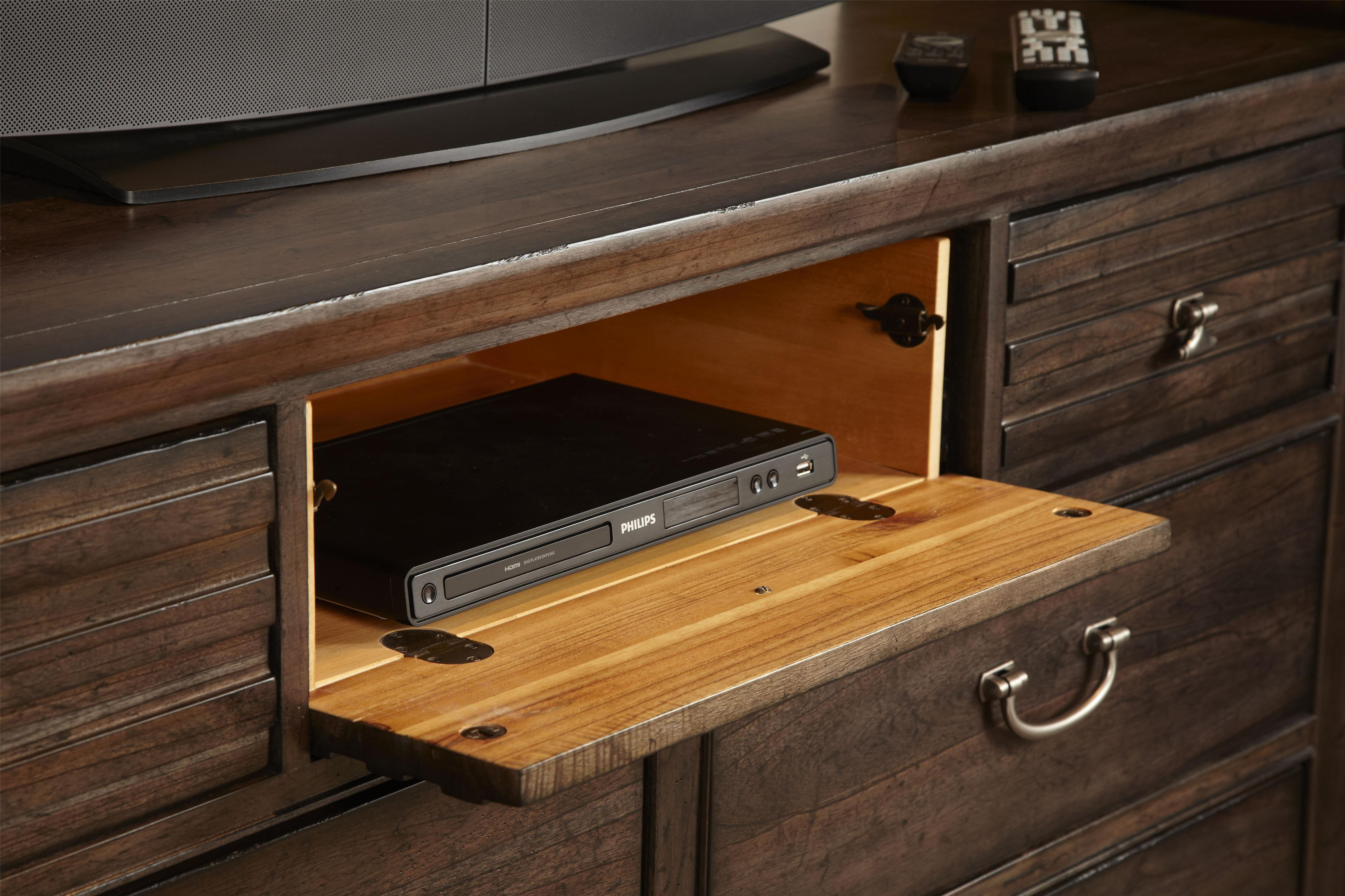 Contemporary Black Mountain Bureau With Grooved Mouldings And Drop Front  Drawer. By Kincaid Furniture