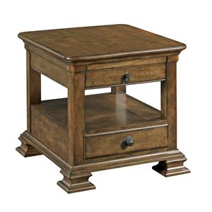 Kincaid Furniture Portolone Rectangular End Table