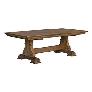 Kincaid Furniture Portolone Portolone Trestle Table
