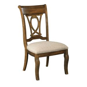 Kincaid Furniture Portolone Harp Back Side Chair