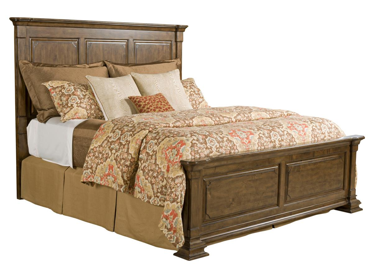 by Kincaid Furniture  Queen Monteri Solid Wood Panel Bed. Queen Monteri Solid Wood Panel Bed by Kincaid Furniture   Wolf and