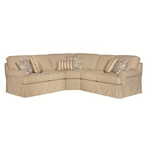 Kincaid Furniture Samantha 5 Pc Sectional Sofa