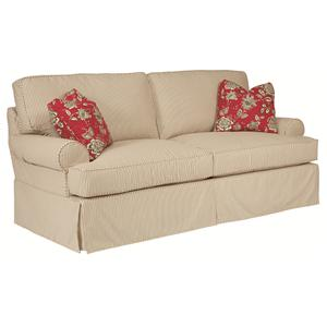 Kincaid Furniture Samantha Slipcover Queen Sleeper