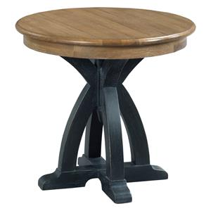 Kincaid Furniture Stone Ridge Round Wood End Table