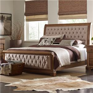 Kincaid Furniture Stone Ridge King Size Sleigh Bed
