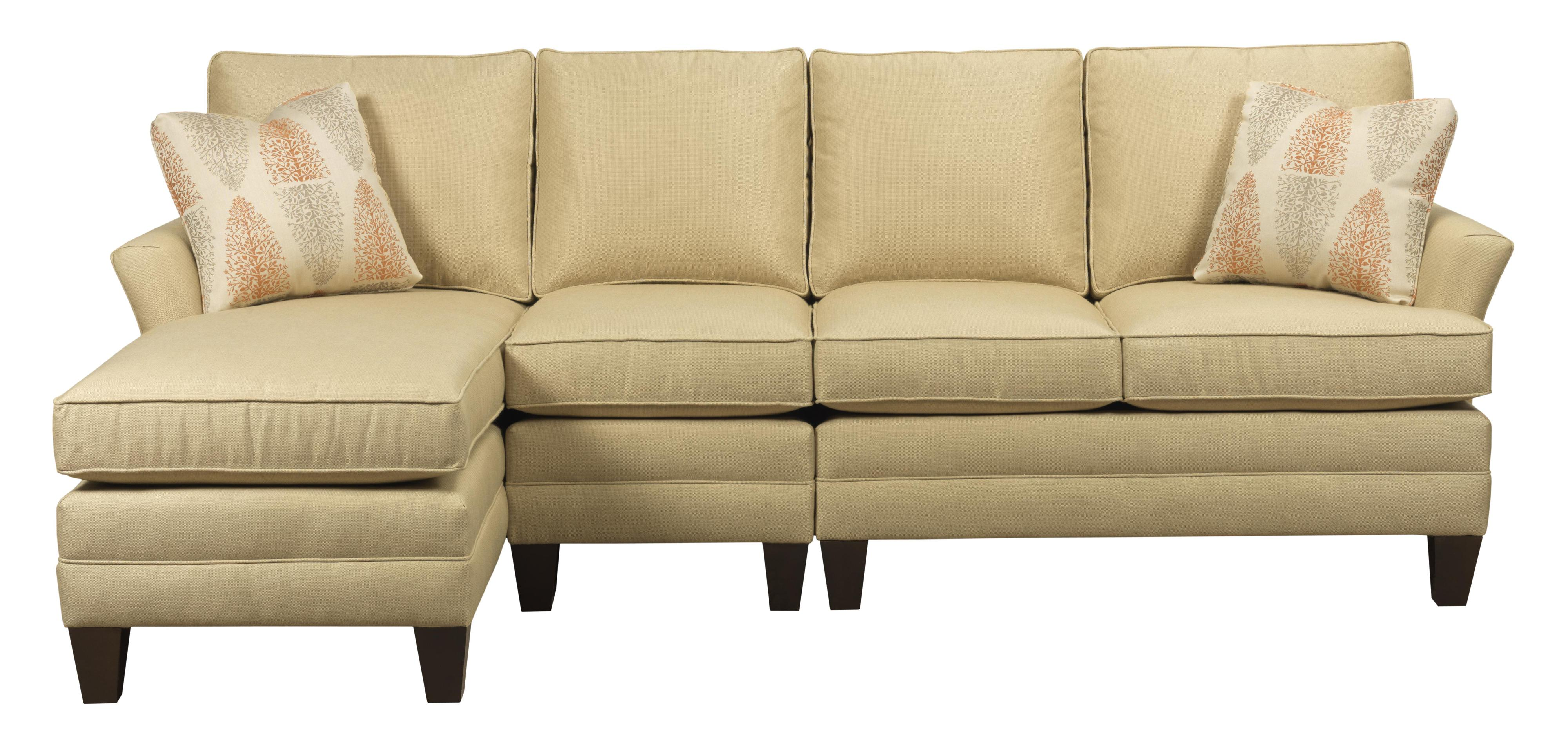 Customizable three piece sectional sofa with raf chaise by for 3 piece sectional with chaise