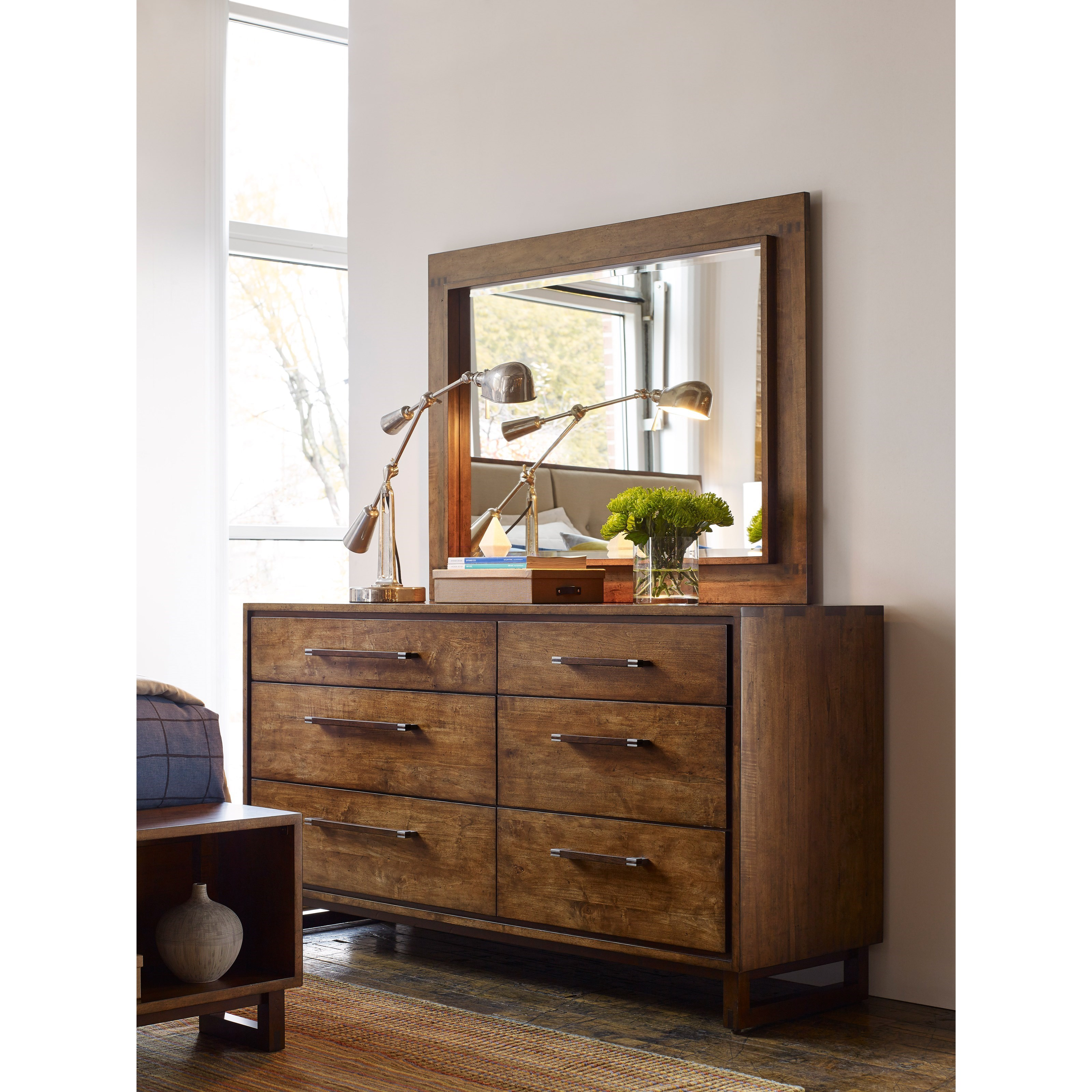 Artisan Modern Craftsman Dresser With Jewelry Storage