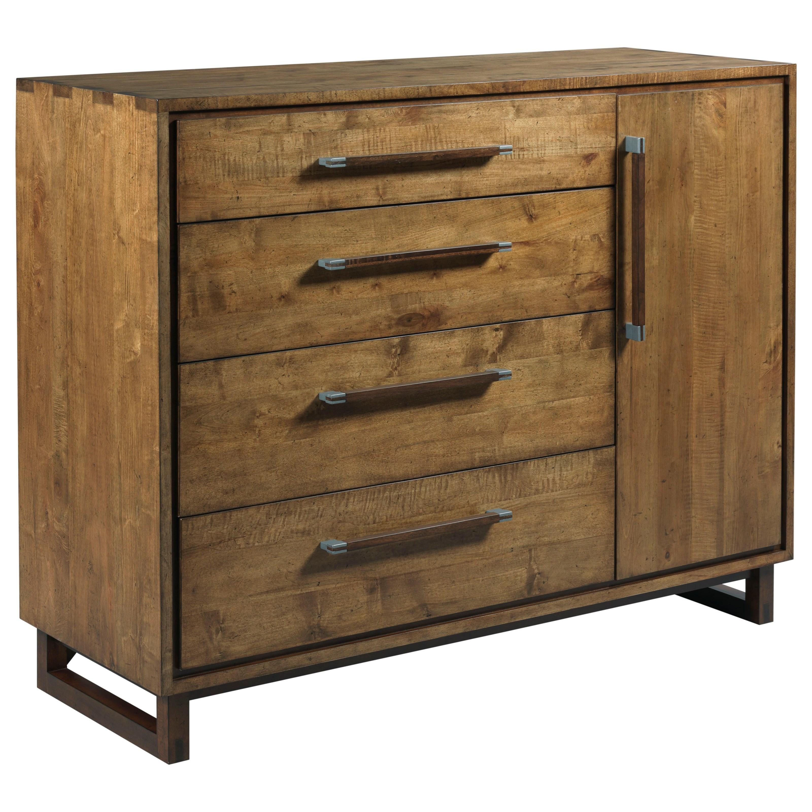 Millwright Modern Craftsman Dresser With Door