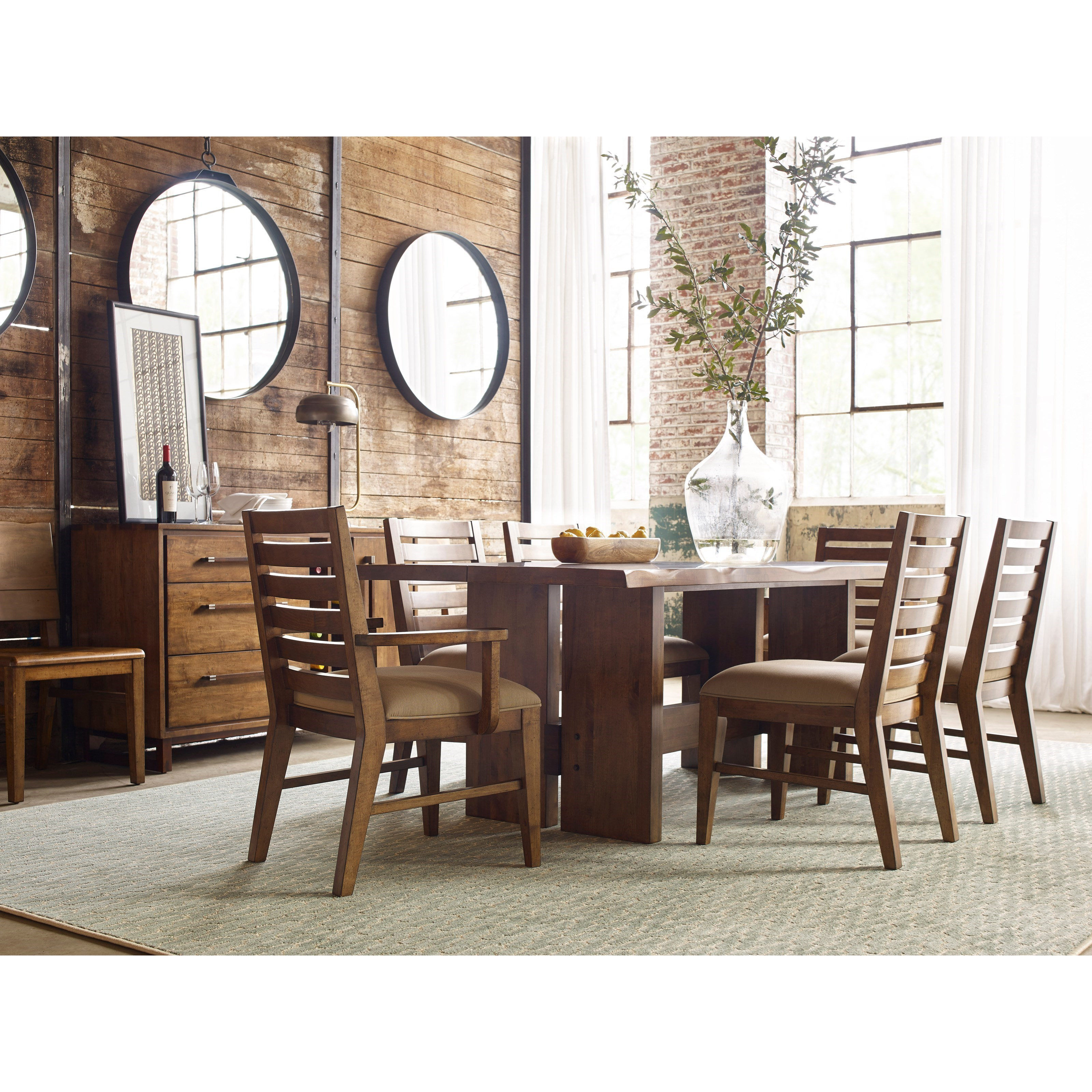 Delightful Cutler Live Edge Dining Table