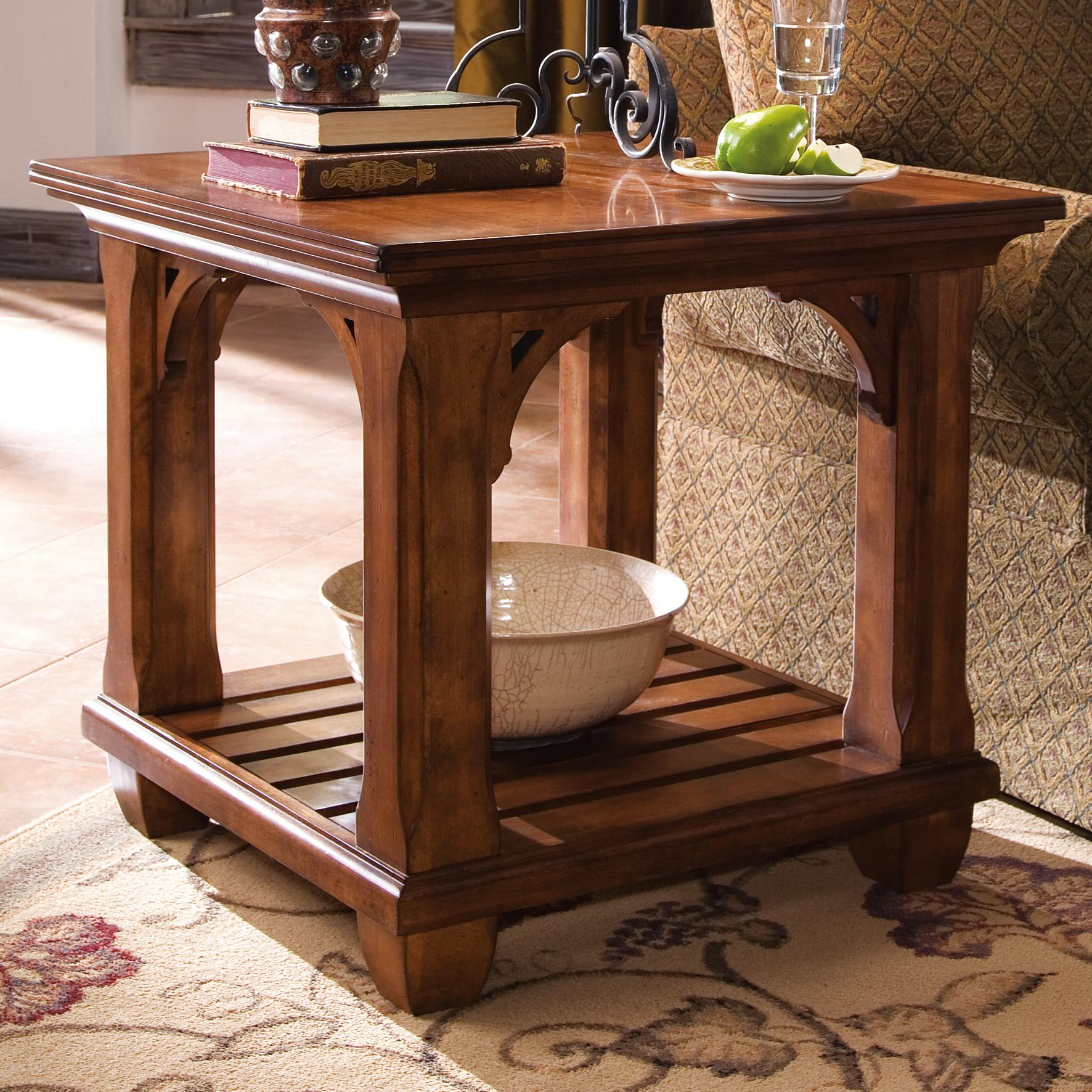 Square Lamp Table By Kincaid Furniture Wolf And Gardiner Wolf Furniture
