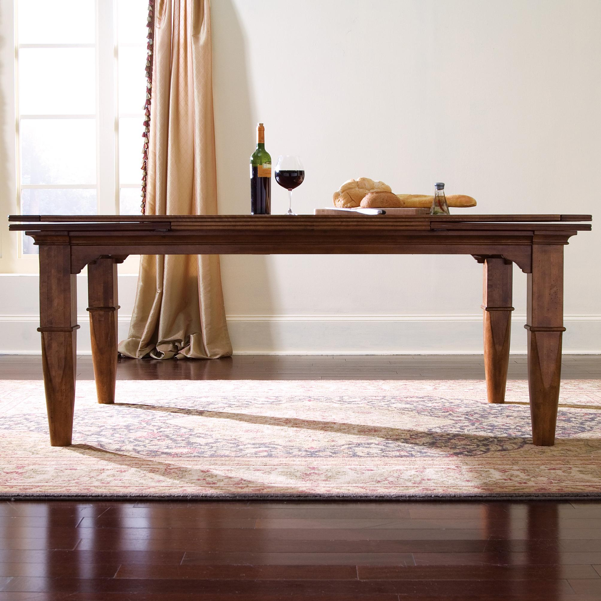 Refectory Leg Table By Kincaid Furniture Wolf And Gardiner Wolf Furniture