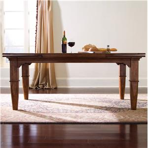 Kincaid Furniture Tuscano Refectory Leg Table