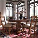 Kincaid Furniture Tuscano Tuscano Side Chair - Shown with Table