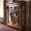 Kincaid Furniture Tuscano Curio Glass Door Display Cabinet