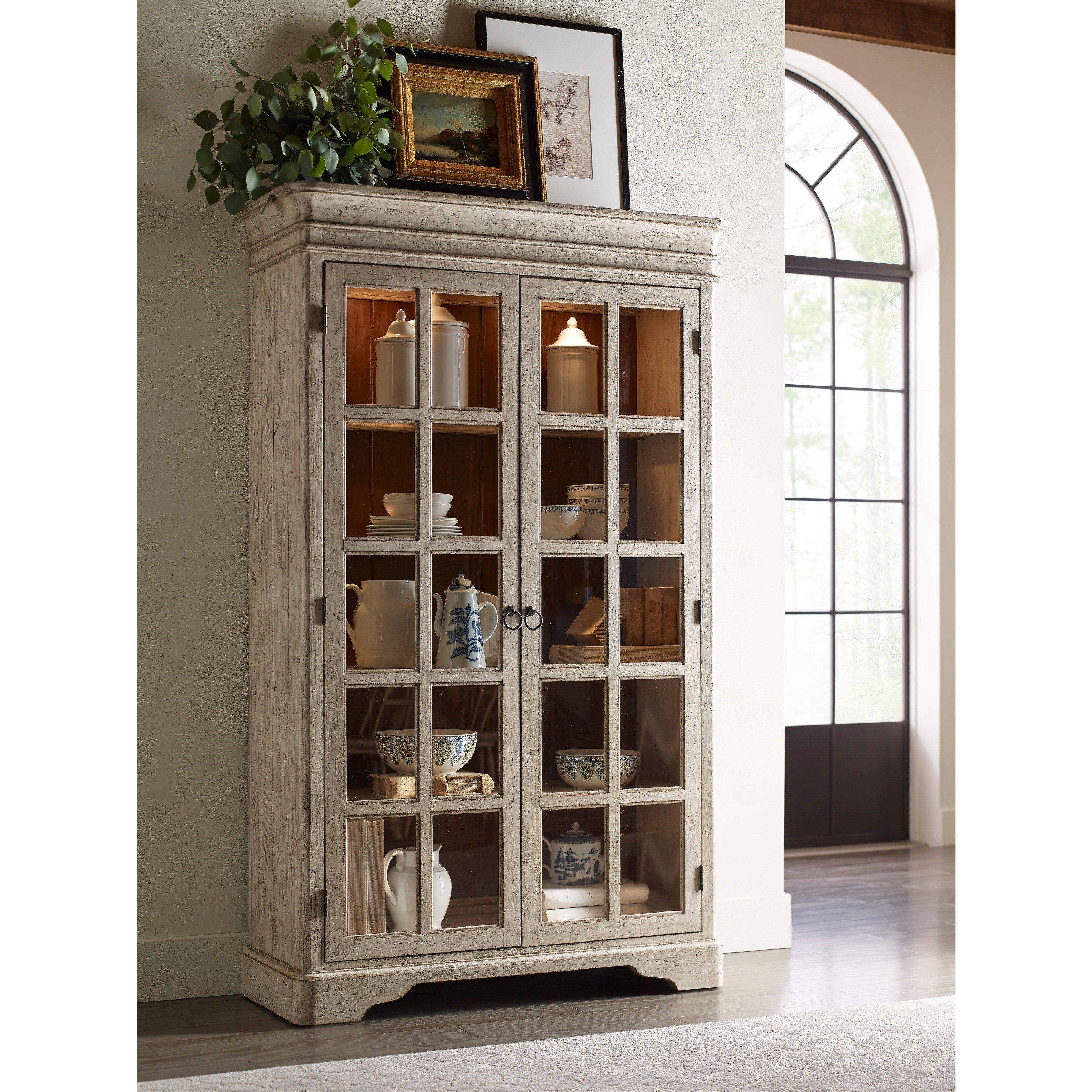 Clifton China Cabinet with Built in Lighting by Kincaid Furniture ...