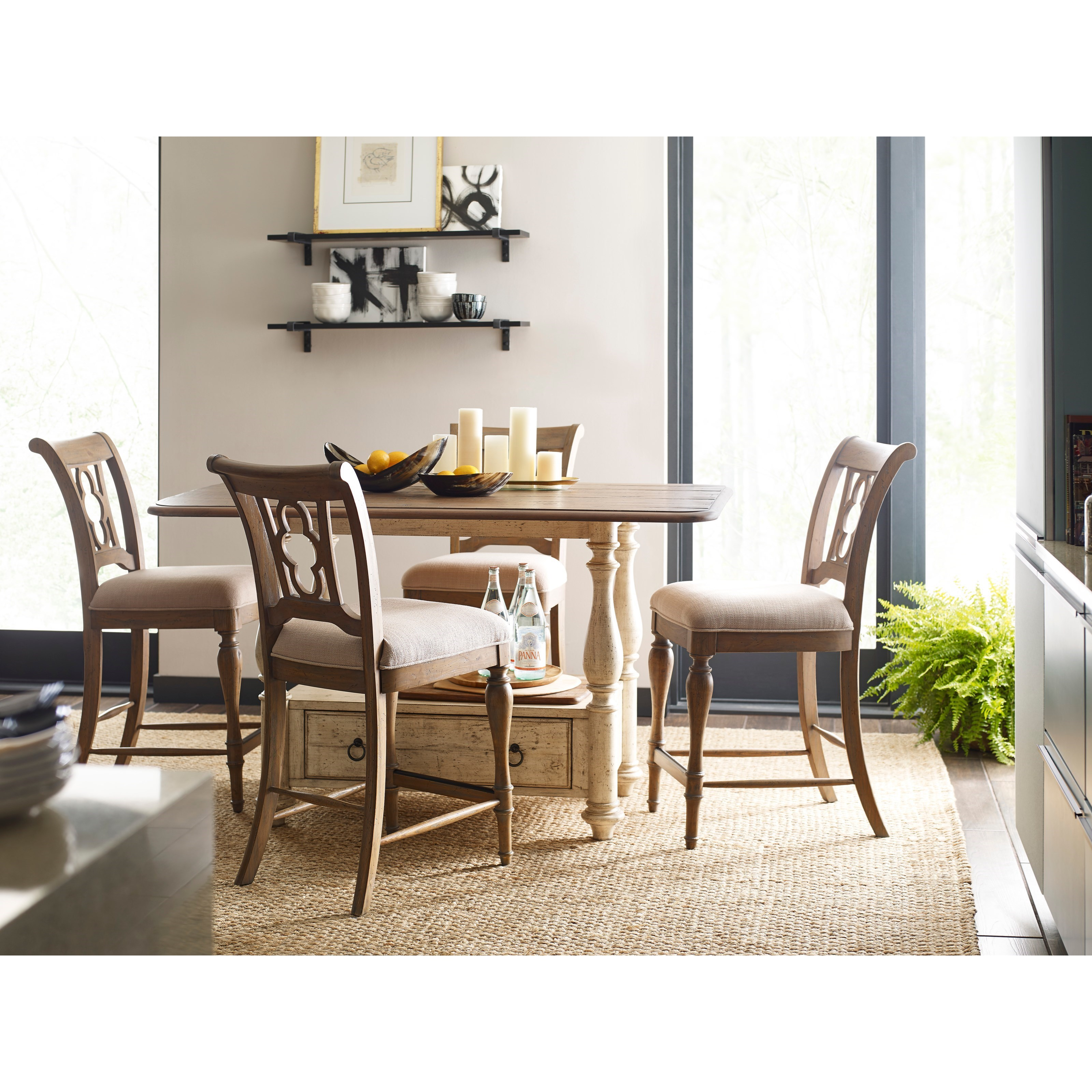 Kitchen Gathering Table 5 piece kitchen islandcottage tall gathering table and chair set by 5 piece kitchen island and chair set workwithnaturefo