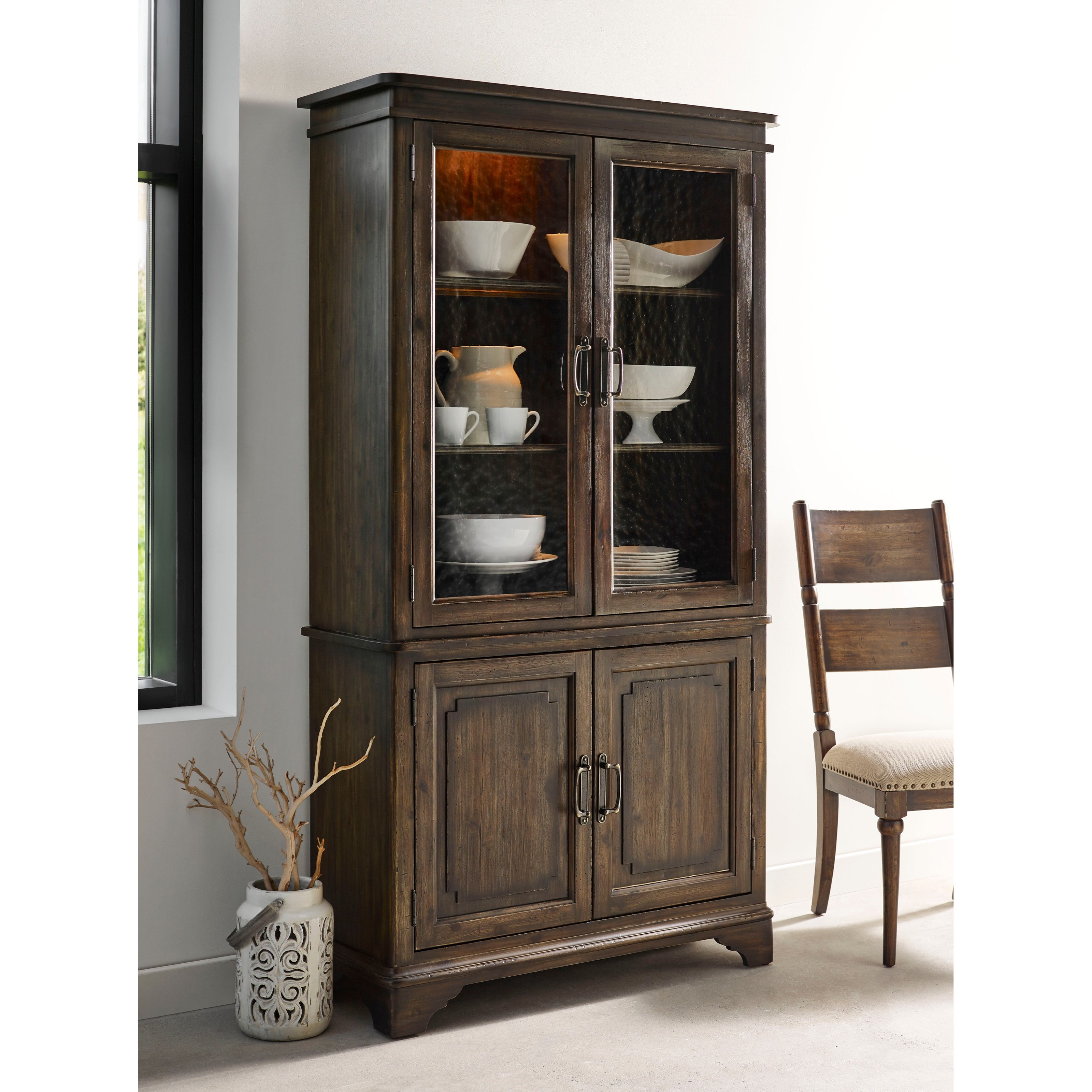 Glass door china cabinet gallery china cabinet glass doors image collections doors design - Trendy ikea kitchen design collection worth ...