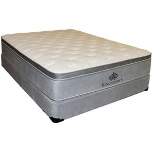 Kingsdown Anniversary Silver Twin Pillow Top Mattress Set