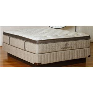 Kingsdown Sleep Haven Castilla Full Euro PT Latex & Foam Mattress