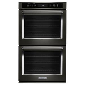 """KitchenAid Built-In Electric Double Ovens 30"""" 5.0 Cu. Ft. Convection Double Wall Oven"""