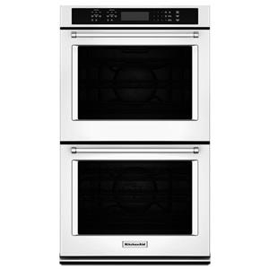 """KitchenAid Built-In Electric Double Ovens 8.6 Cu. Ft. 27"""" Double Wall Oven"""