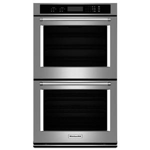 """KitchenAid Built-In Electric Double Ovens 10 cu. ft. 30"""" Double Wall Oven"""