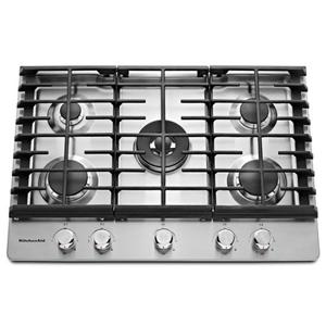 KitchenAid Gas Cooktops - 2014 30'' 5-Burner Gas Cooktop