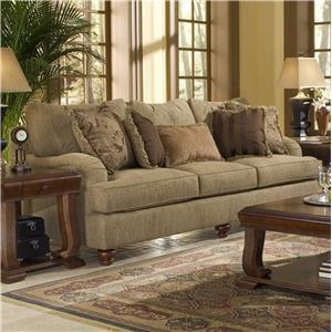 Simple Elegance Walker Stationary Sofa