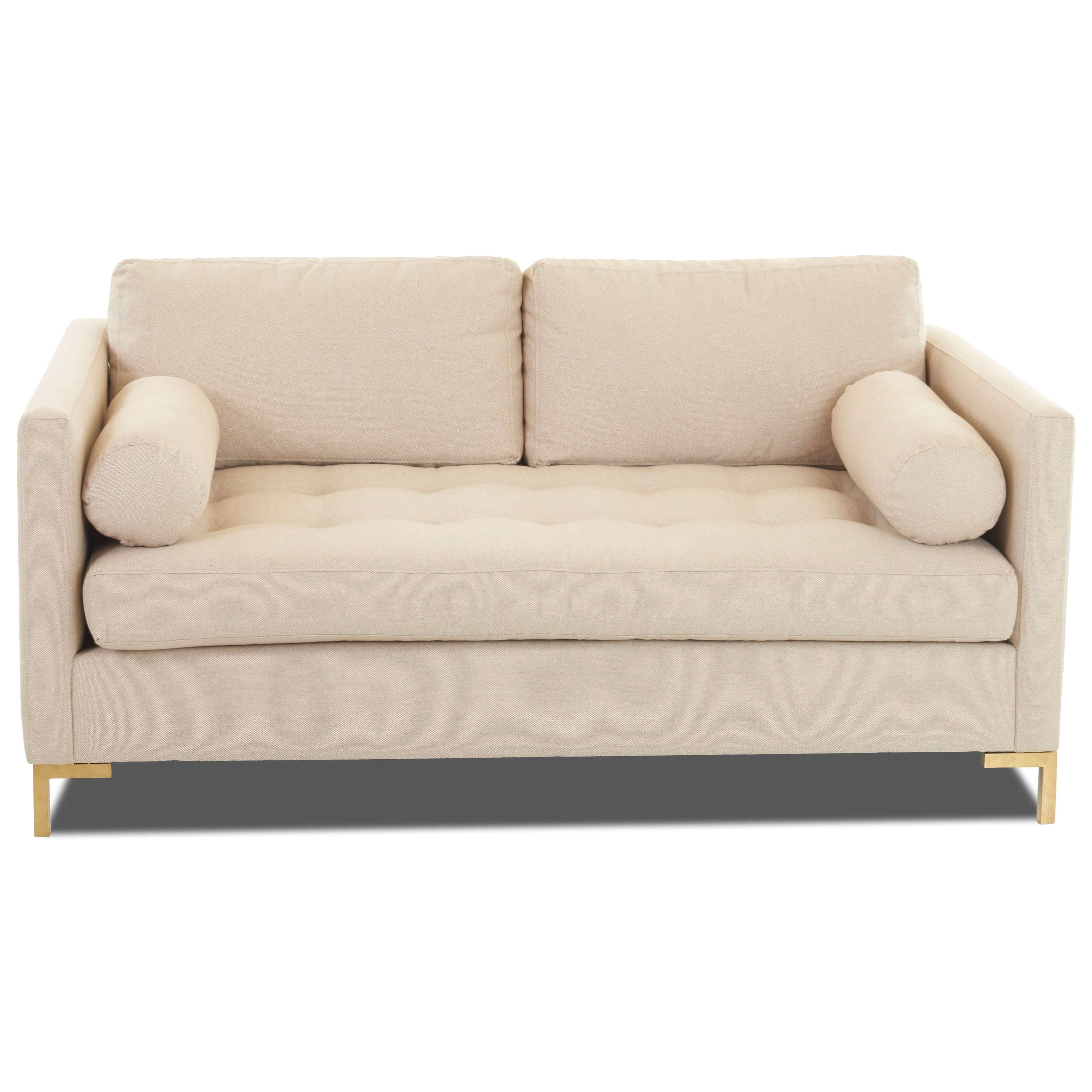 Klaussner Contemporary Love Seat