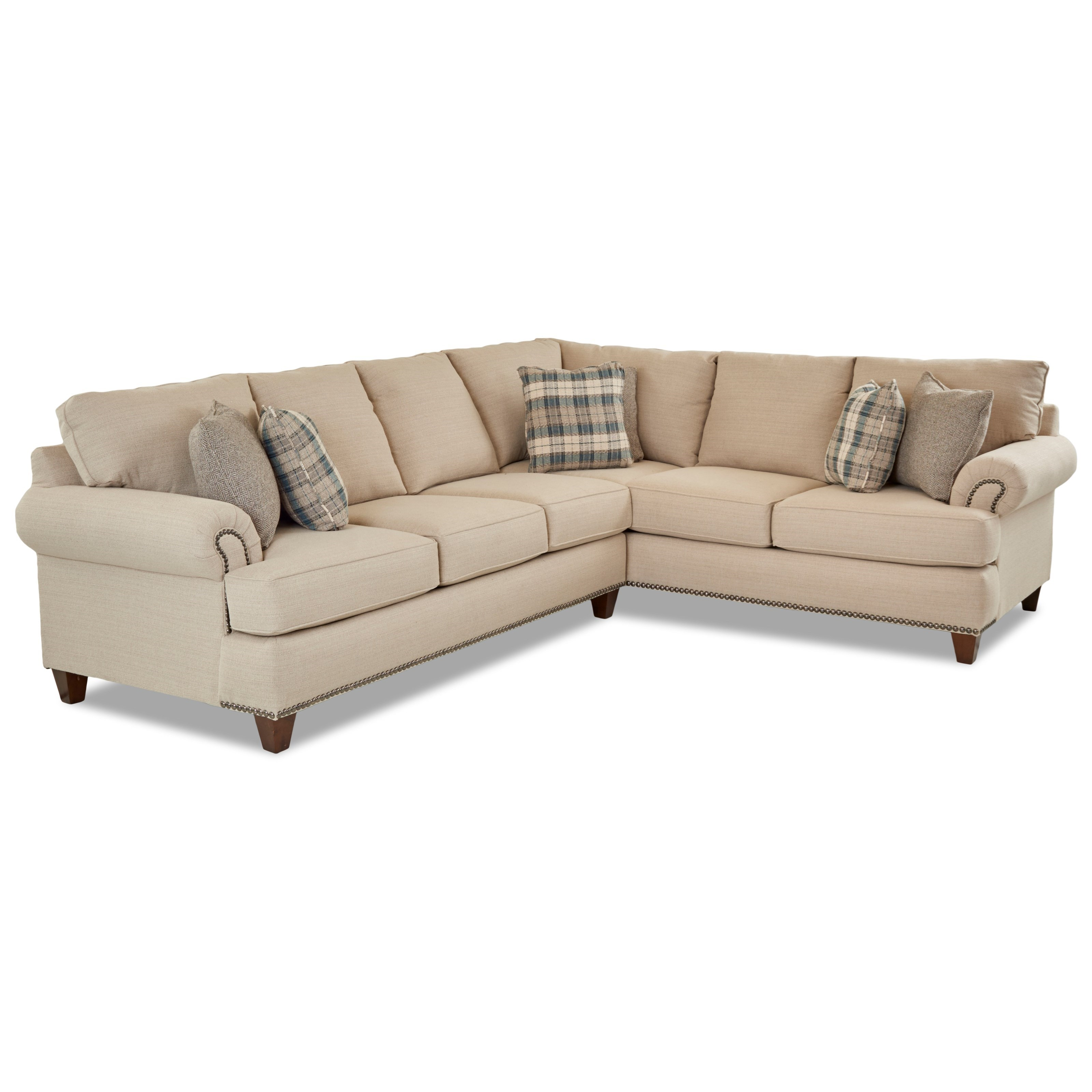 Two Piece Sectional Sofa with LAF Sofa