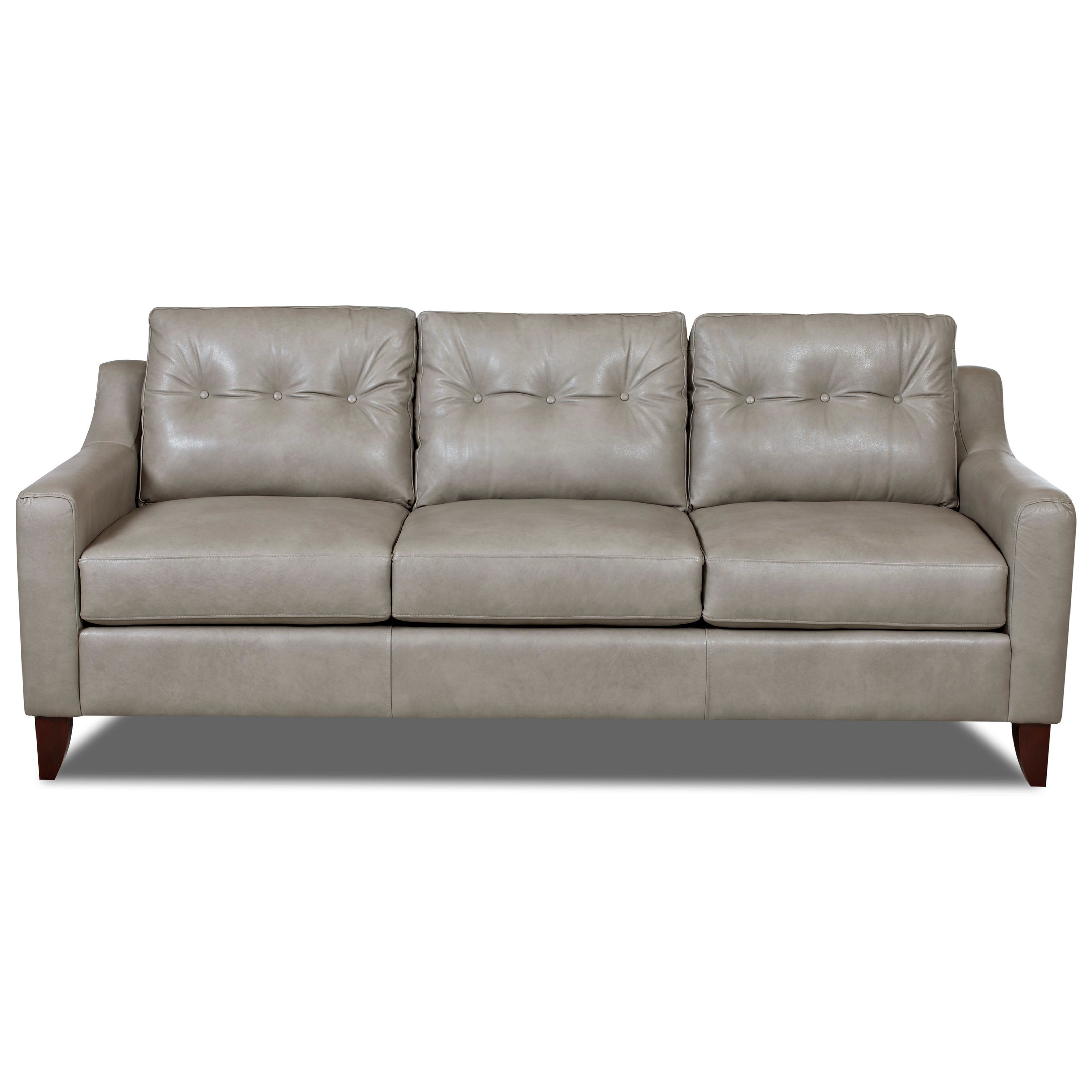 Mid-Century Modern Style Sofa with Tufted Cushions by ...