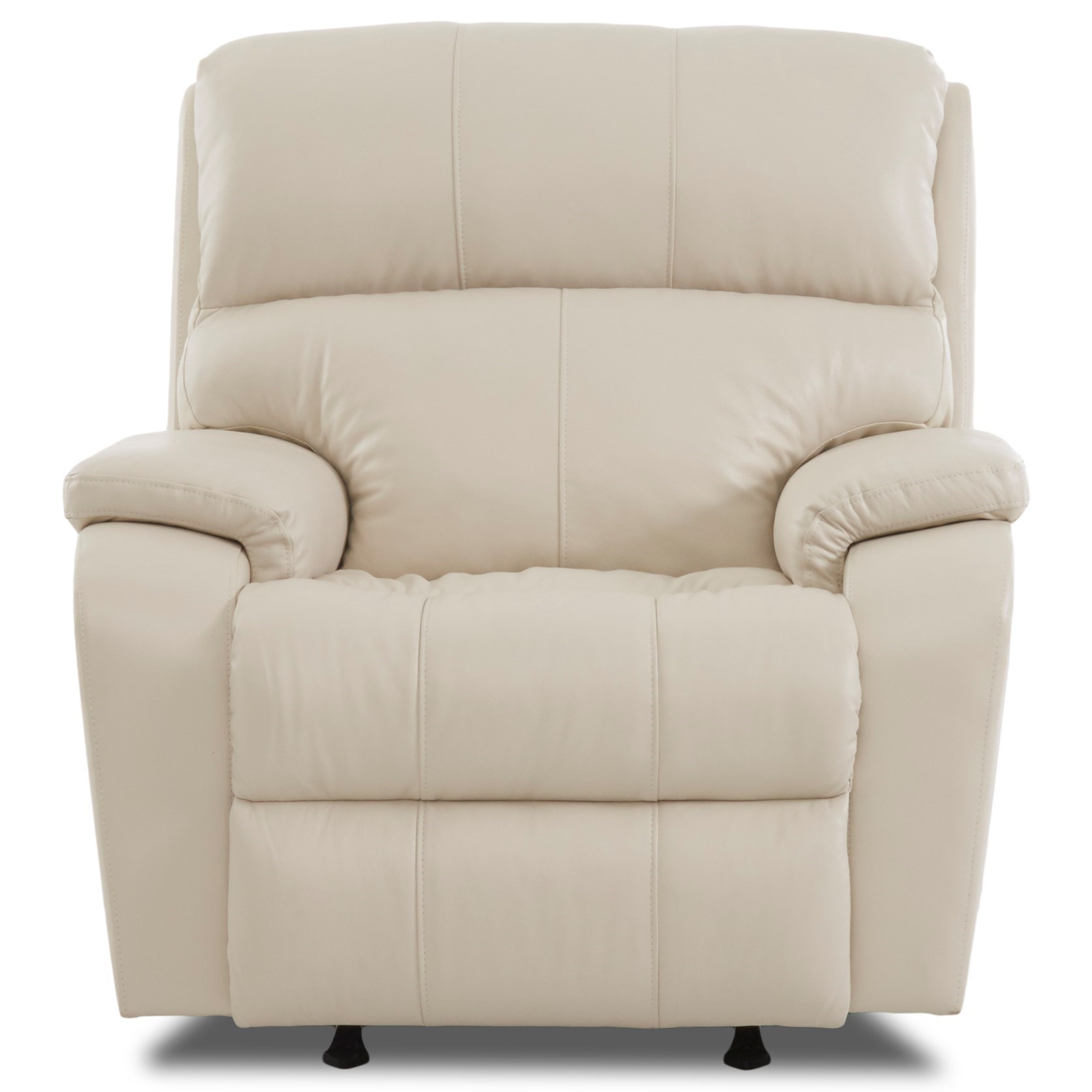 Casual Power Recliner with Power Head & Lumbar and USB Charging Port