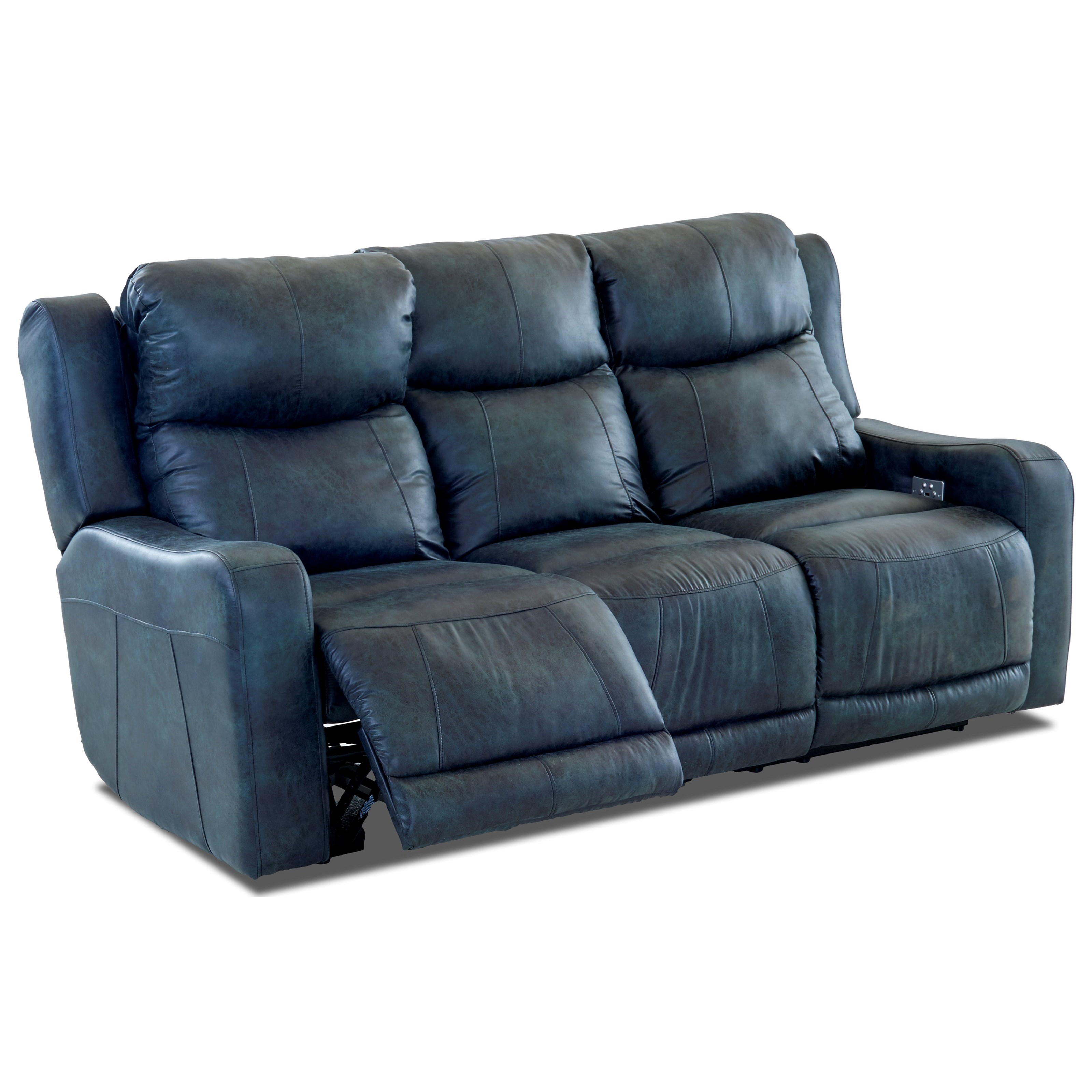 Power Reclining Sofa With Power Headrest And Usb Port By Klaussner