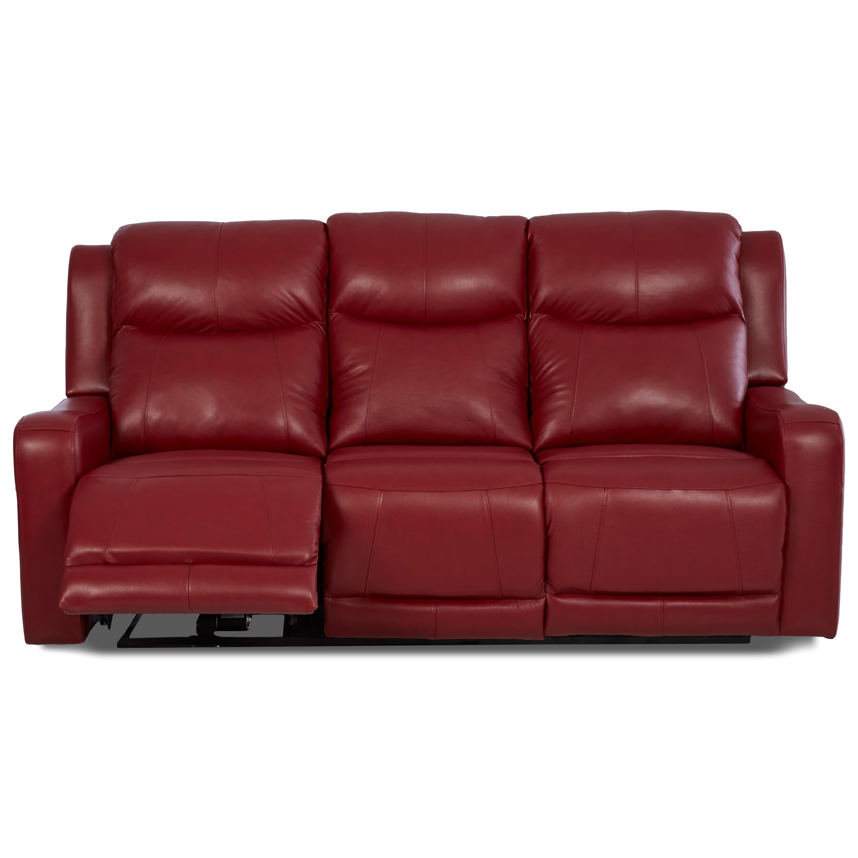 Power Reclining Sofa with Power Adjustable Headrest and Lumbar by