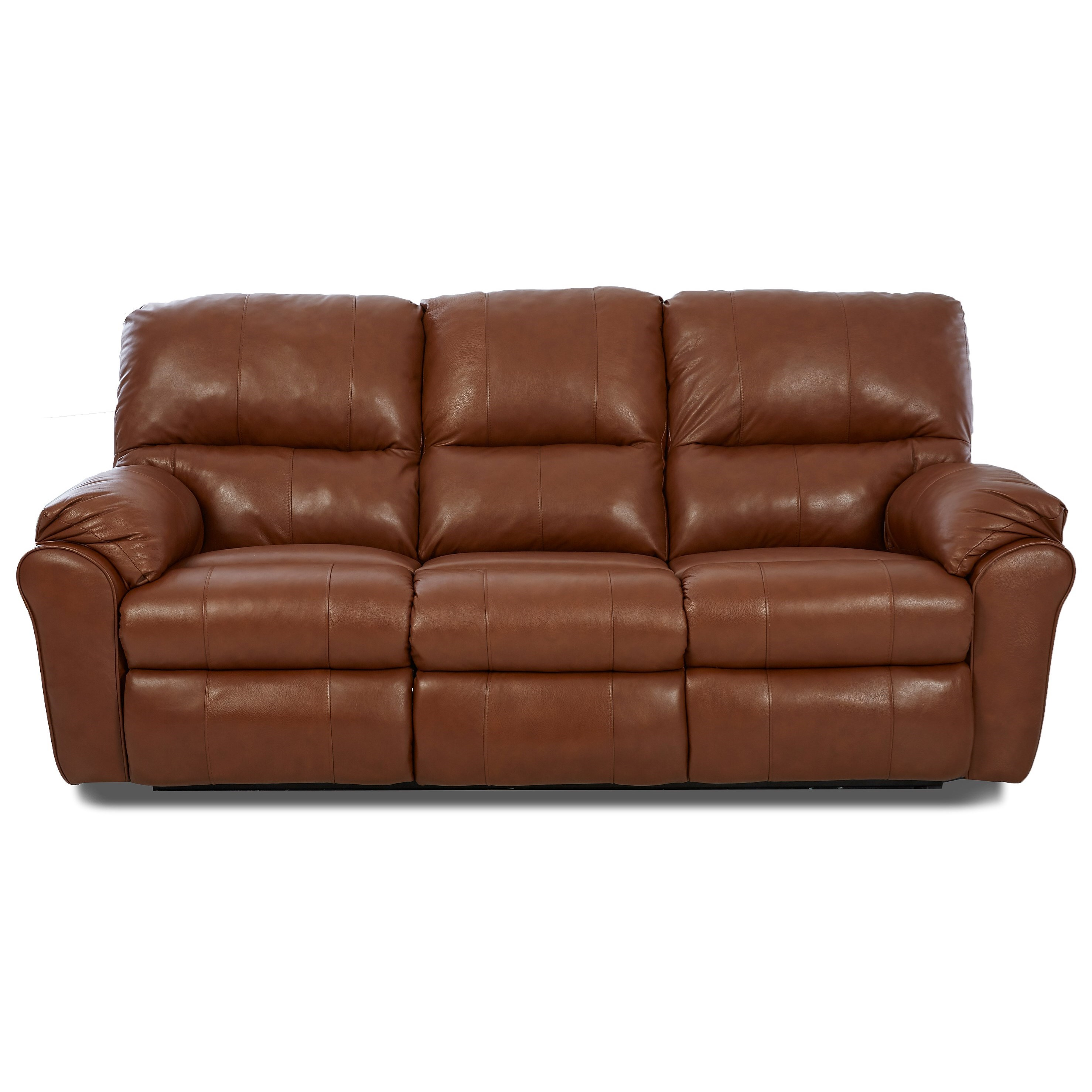 Casual Power Reclining Sofa with 2 Recliners