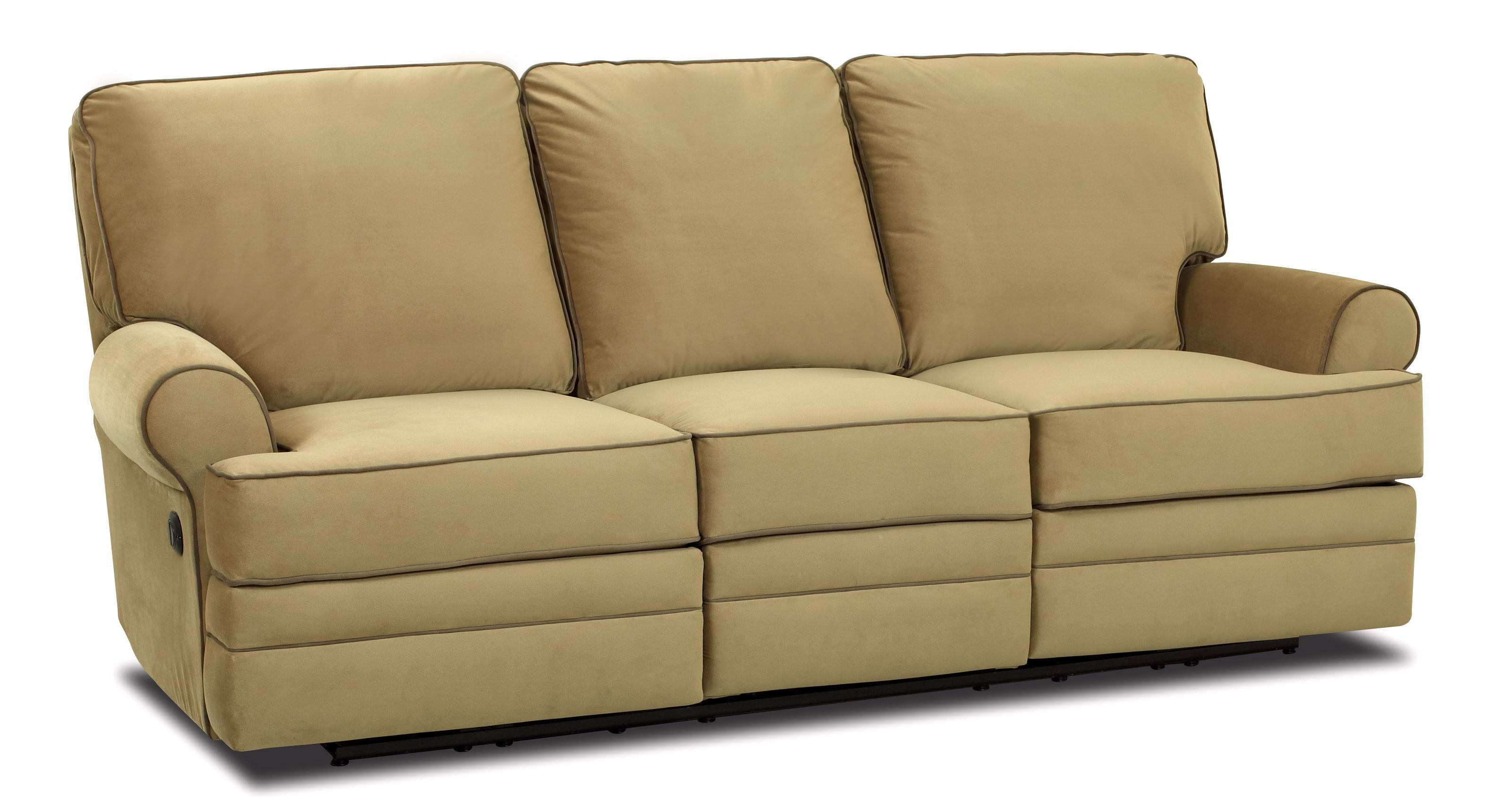 Power Dual Reclining Sofa By Klaussner Wolf And Gardiner Wolf  ~ Traditional Reclining Sofa