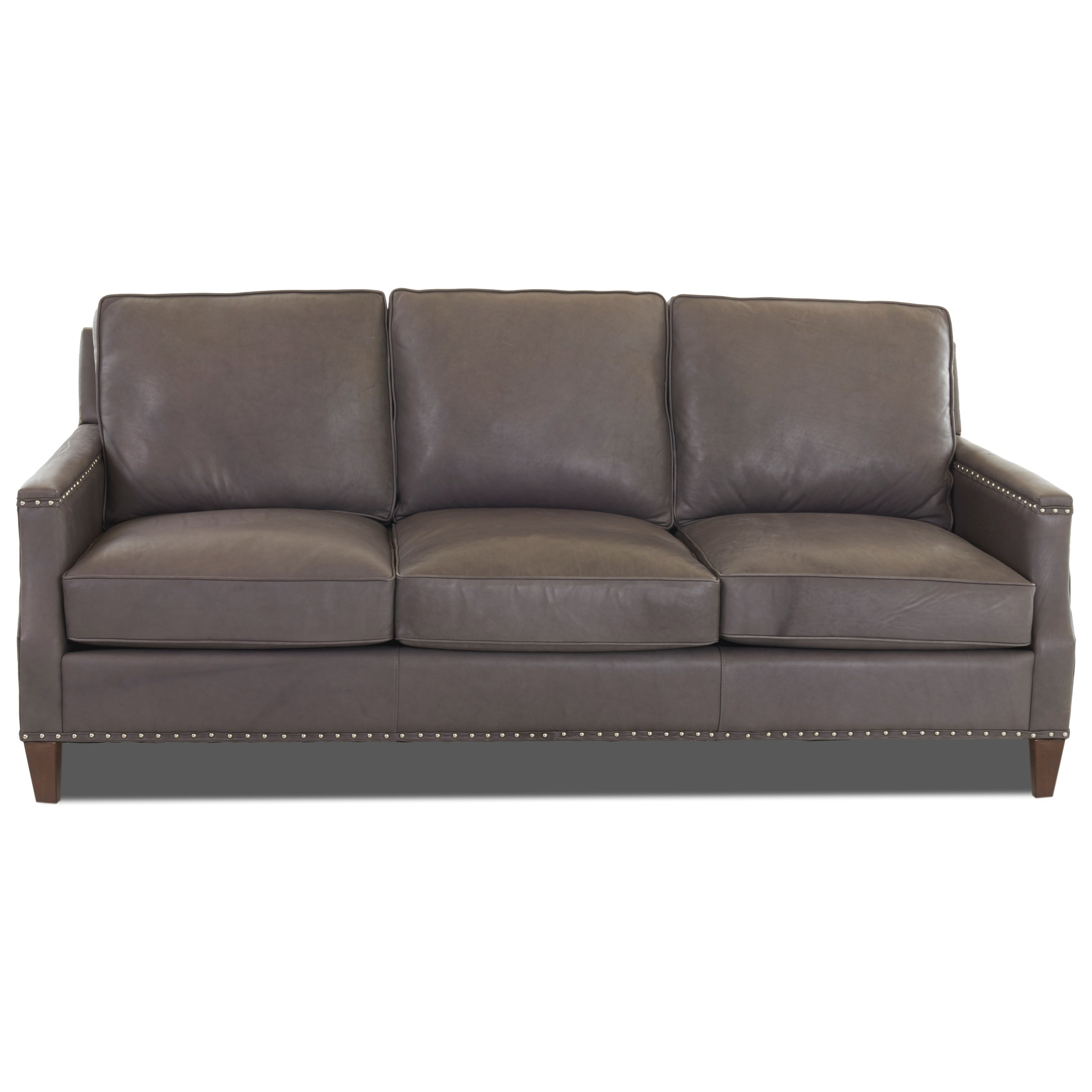 Transitional Sofa with Nailhead Studs (No Trim)