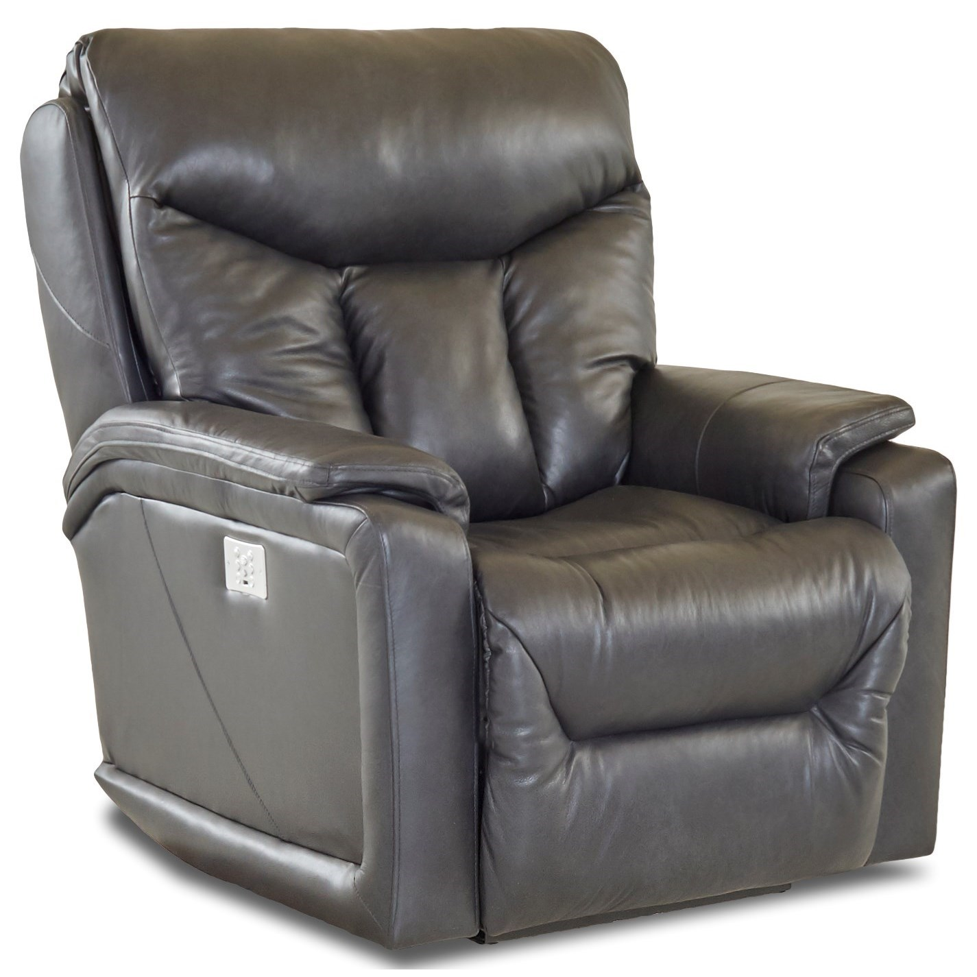 Casual Power Recliner with USB Charging Port and Bluetooth App