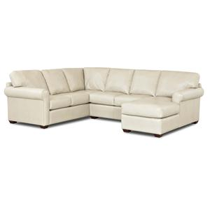 Simple Elegance Canoy Three Piece Sectional Sofa