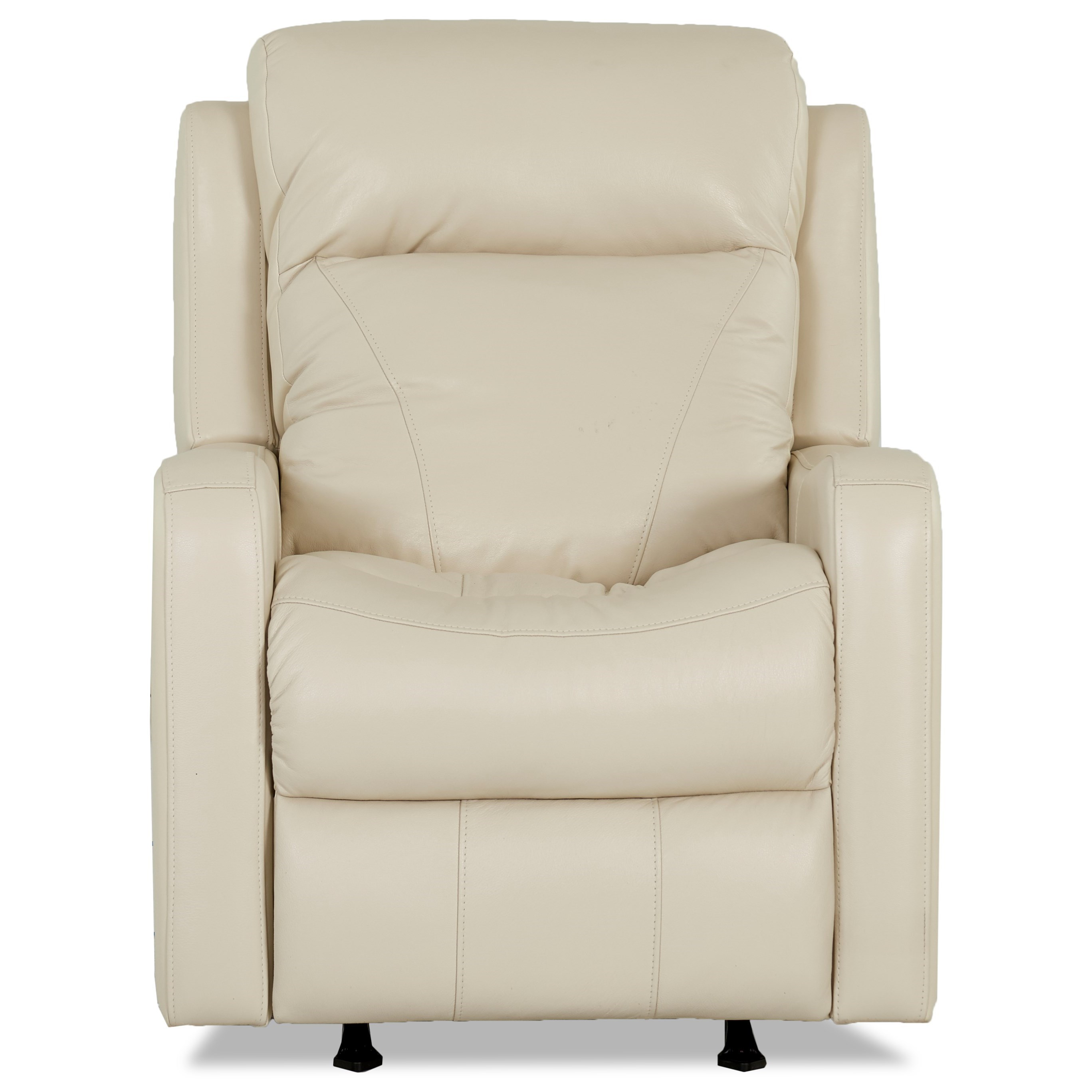 Recliner Lumbar Support Leather Power Recliner With