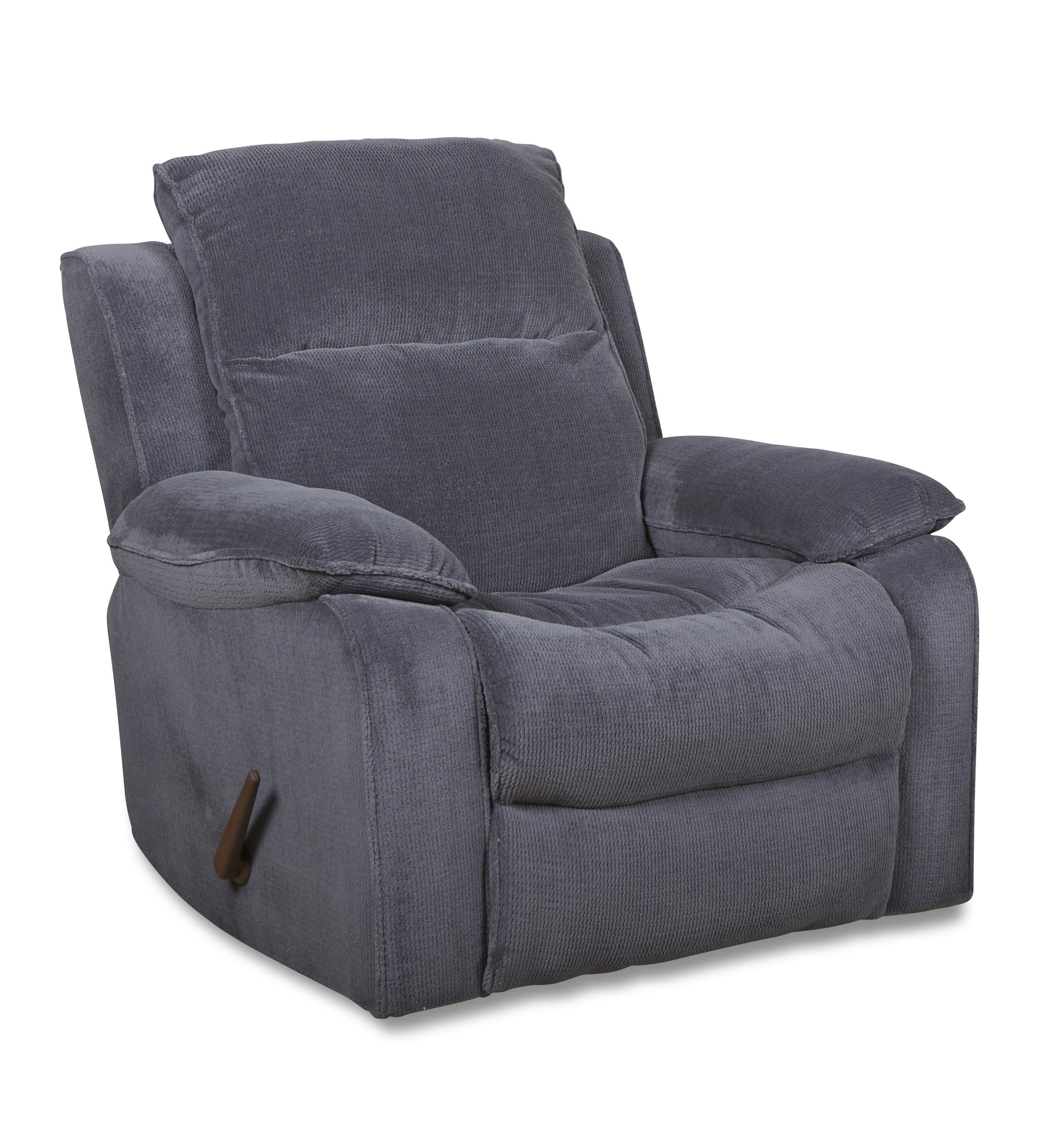 Casual Swivel Rocking Reclining Chair With Bucket Seat And
